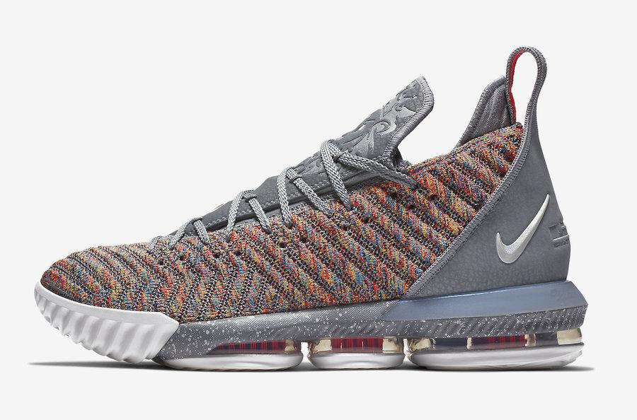 Nike LeBron 16 XVI Multicolor Size 15. BQ5969-900
