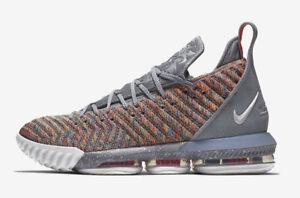 Nike LeBron 16 XVI Multicolor Size 16