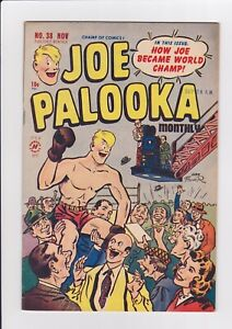 Joe-Palooka-38-Nov-1949-Harvey-Comics-FN-034-How-Joe-Became-Champ-034
