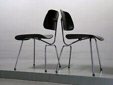 Paar (2x) Dining Chair, DCM, Charles Eames für Herman Miller Vitra, Vollmetall