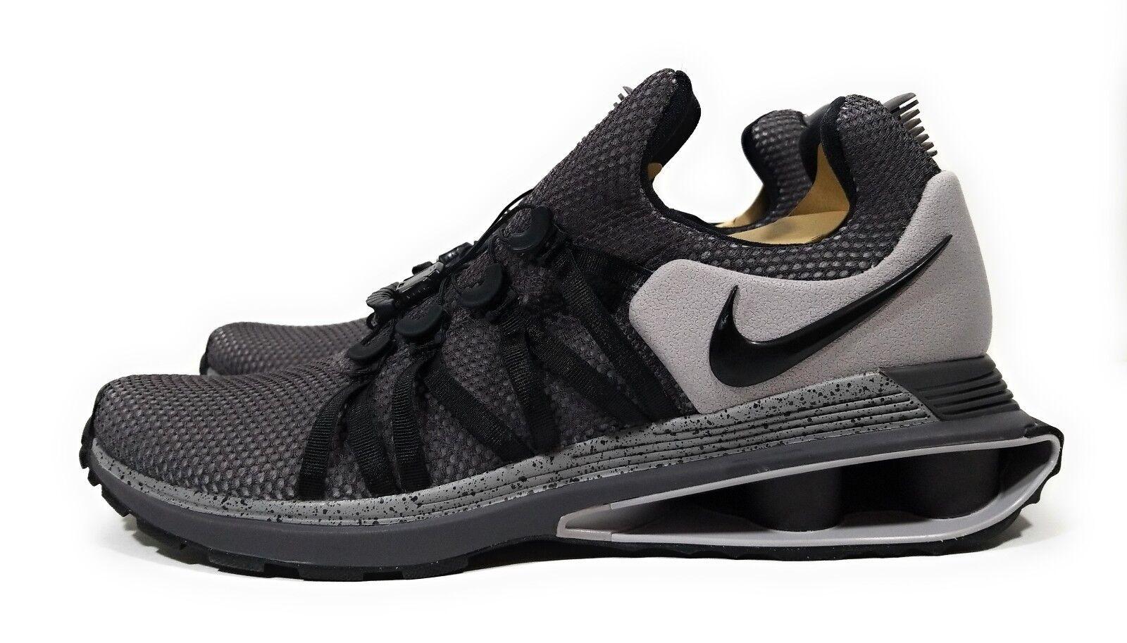 Nike Shox Gravity Mens Running Cross Training shoes Grey Black Size 13