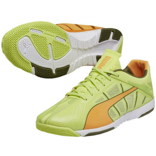 Puma 2018 Neon Lite 2.0 Casual / Training Soccer Shoes Pistachio / Orang / Black