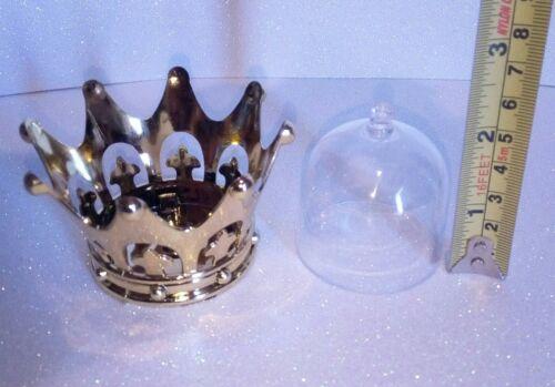 6pcs Gold Crown//Dome Birthday Wedding Decor Favor Box keepsake Baby shower