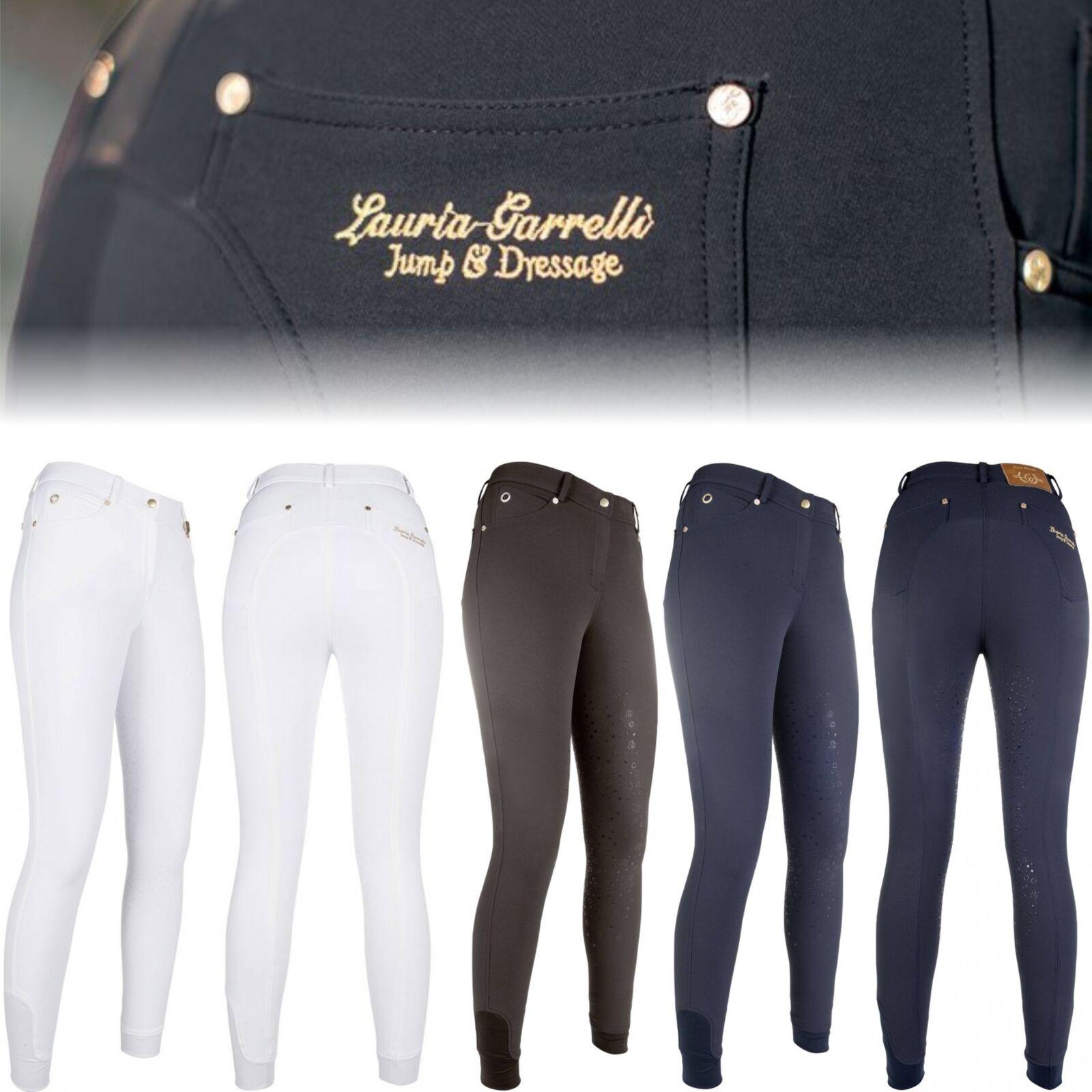 Lauria Garrelli Pantalones Montar -lg Básico Revestimiento Completo de Silicona