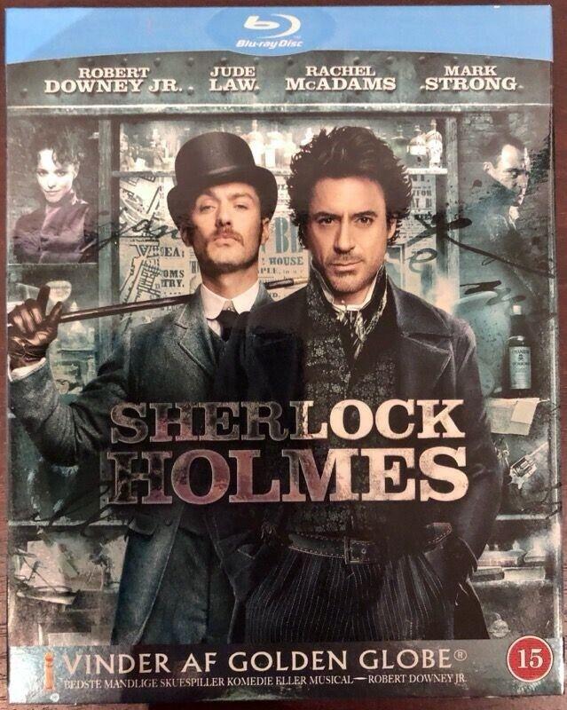 SHERLOCK HOLMES, Blu-ray, eventyr