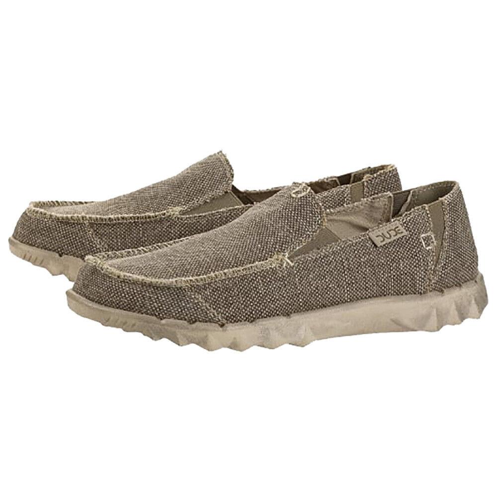 Hey Dude Nuovo da men Farty Intrecciato shoes - Tundra Nuovo con Etichetta