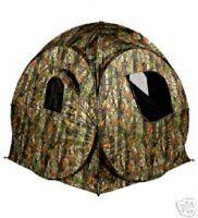Camo Protector 2 Pop Up Hide Decoying Photography Shoot Tent Wildlife Decoys