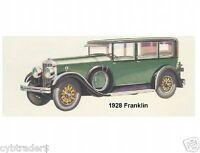 1928 Franklin Auto Refrigerator Magnet