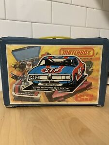 1976-Matchbox-Car-Carry-Case-Holds-24-Models-Lesney-Products-Corp
