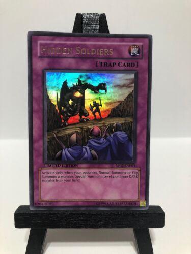 Hidden Soliders SP02-EN003 Ultra Rare Limited Edition Yu-Gi-Oh Near Mint