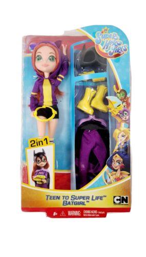 DC Super Hero Girls Teen to Super Life Batgirl Doll toy for kids