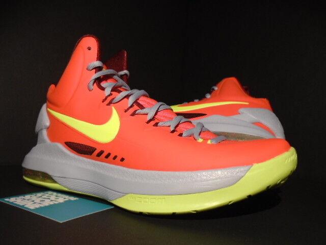 Nike naranja Zoom Kevin Durant KD V 5 DMV Crimson naranja Nike Volt Wolf Gris 554988-69 fa7d64