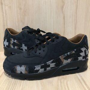 NEW-Nike-Air-Max-90-PND-QS-Pendleton-Size-10-Black-Brown-Blue-825512-004-RARE
