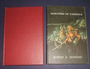 1977-First-Edition-Marchers-of-Valhalla-Robert-E-Howard-Donald-Grant-Publisher