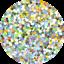 Hemway-SUPER-CHUNKY-Ultra-Sparkle-Glitter-Flake-Decorative-Craft-Flake-1-8-034-3MM thumbnail 127