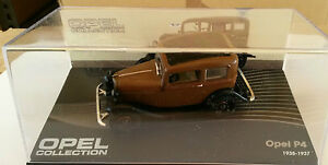 DIE-CAST-034-OPEL-P4-1935-1937-034-OPEL-COLLECTION-SCALA-1-43