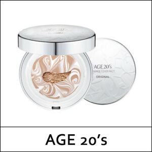 AGE-20-039-s-AGE20s-Essence-Cover-Pact-Original-White-Latte-12-5g-2ea-Korea-D