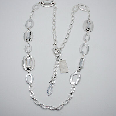 Paparazzi Jewelry Necklace ~Texture Tigress Silver~ NWT New Release