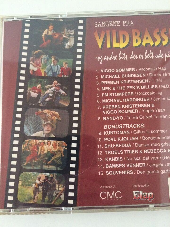 CD med Shu-bi-Dua, Bamses venner m.v.: Vildbassen, pop