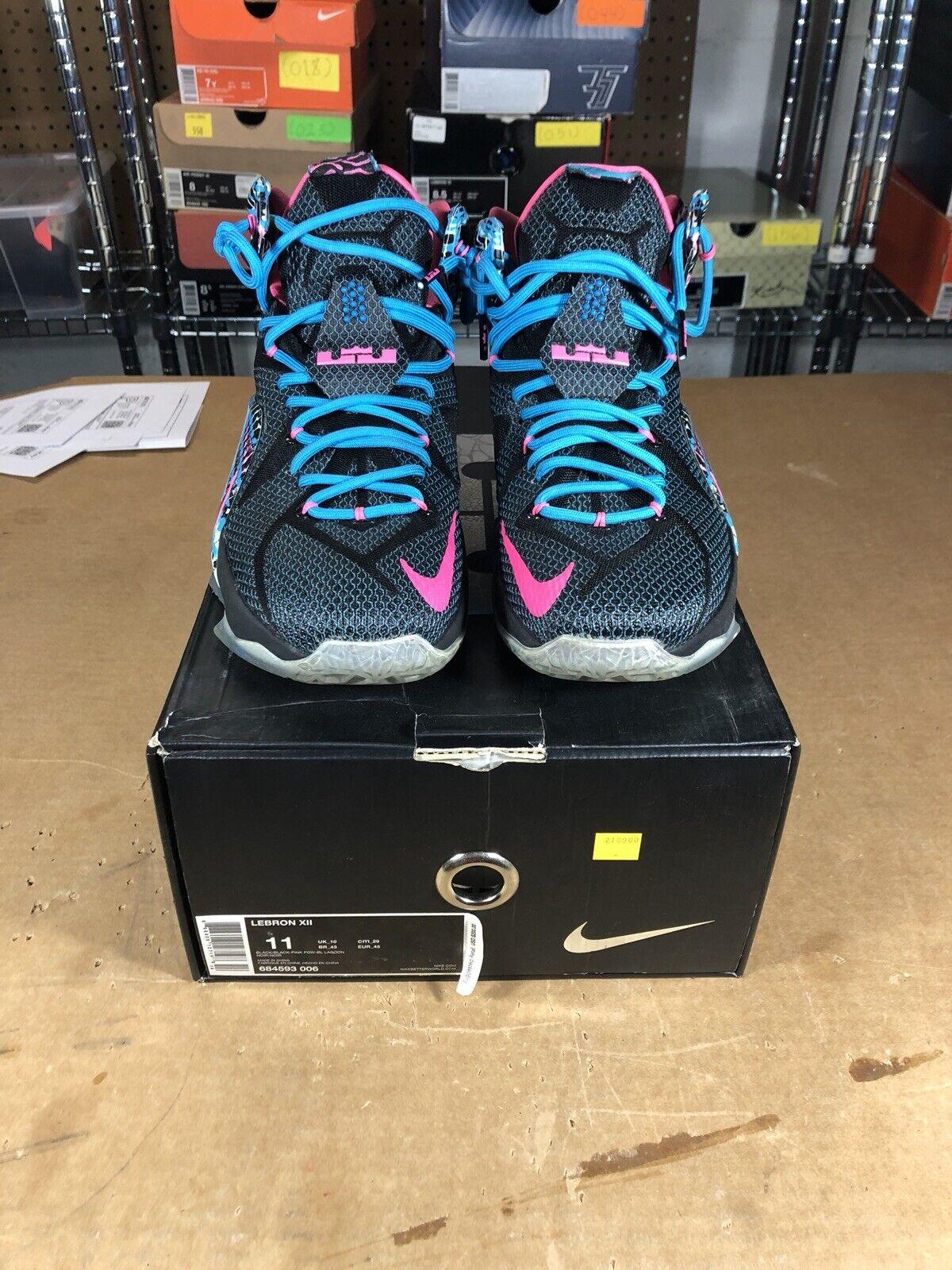 100% Authentic Nike Lebron 12 23 Chromosomes Size 11 684593 006