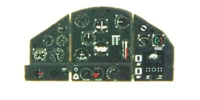 FOKKER D XXI (FINNISH EARLY) PHOTOETCHED, COLORED INSTRUMENT PANEL#7230  YAHU