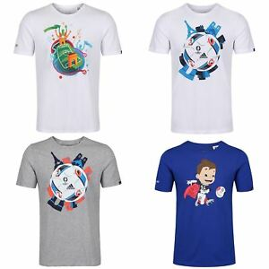 Adidas-Enfants-Sports-T-Shirt-Garcons-Filles-9-10-To-15-16-ans-football-Crew