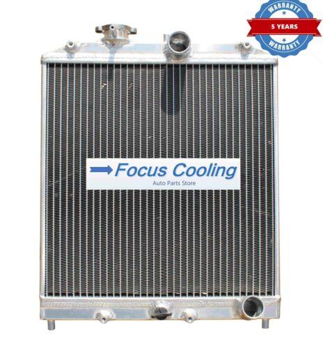 2 ROWS ALL ALUMINUM RADIATOR For 92-00 CIVIC EJ//EK//DEL SOL EG//INTEGRA DB DC
