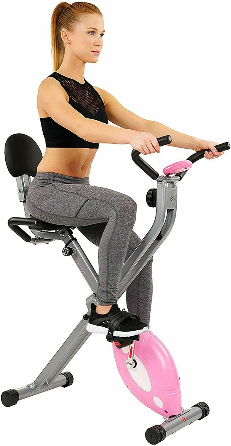 Sunny Health Fitness SF-RB1117 Exercise Bike 220lb Max Weight 220lb bike exercise fitness health max sunny weight