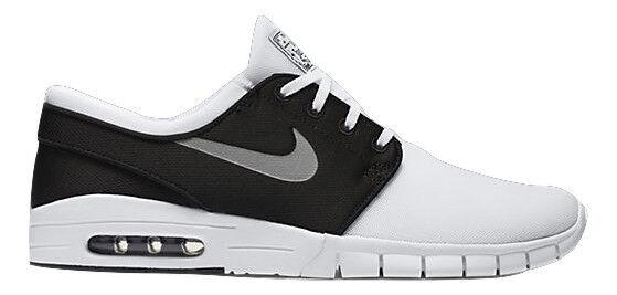 Nike STEFAN JANOSKI Negro MAX Blanco Metallic Plata Negro JANOSKI Discounted (596) Hombre Zapatos 23a7c9