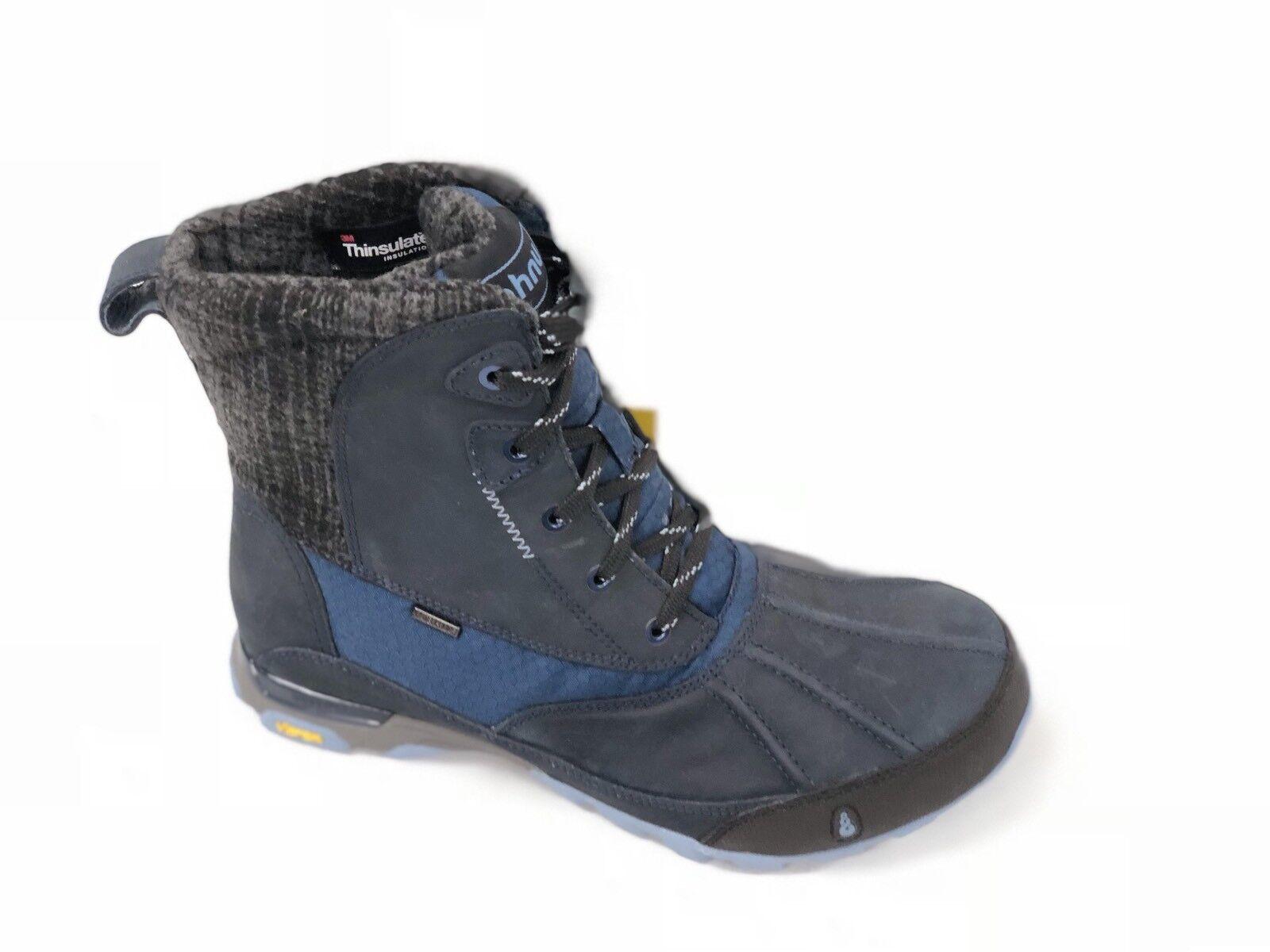 Ahnu Womens Sugar Peak  Blue Spell Insulated Waterproof Hiking High Top Boot New