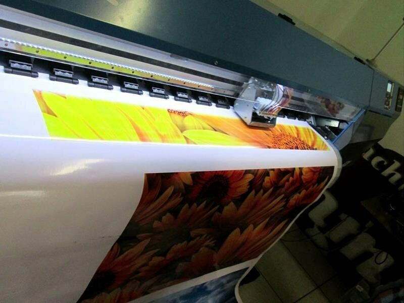 F-1867/ECO FastCOLOUR 1860mm EPSON DX5 Printhead Large-Format ECO Solvent Ink Inkjet