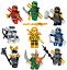 Lego-Ninjago-Minifiguren-Sets-Zane-Cole-Nya-Kai-Jay-GOLDEN-DRAGON-LLOYD-Minifigs Indexbild 25