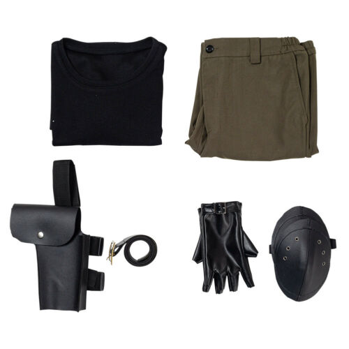 Details about  /Resident Evil 3 Remake Carlos Oliveira Cosplay Costume Halloween Outfit Full Set