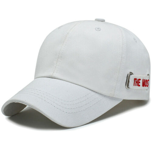 Herren Baseball Cap Schirmmütze Basecap Kappe Sommer Hüte Draussen Mütze Schwarz