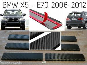 Travesano-de-la-Puerta-con-Fibra-de-Carbono-Stainless-Steel-BMW-X5-E70-2007-2013