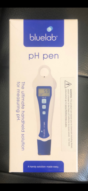 Ultimate Handy Solution for Measuring pH and Temperature Bluelab PENPH pH Pen