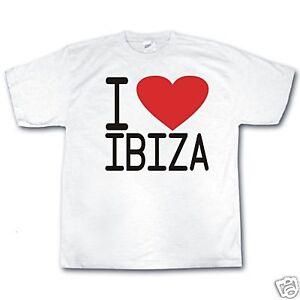 cbcc72fad La imagen se está cargando I-Love-Ibiza-Club-Fiesta-Musica-Dj-Retro-