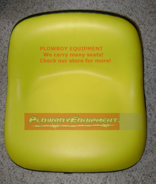 LMS2002YL Universal Lawn Garden YELLOW Tractor Seat for JOHN DEERE GATOR