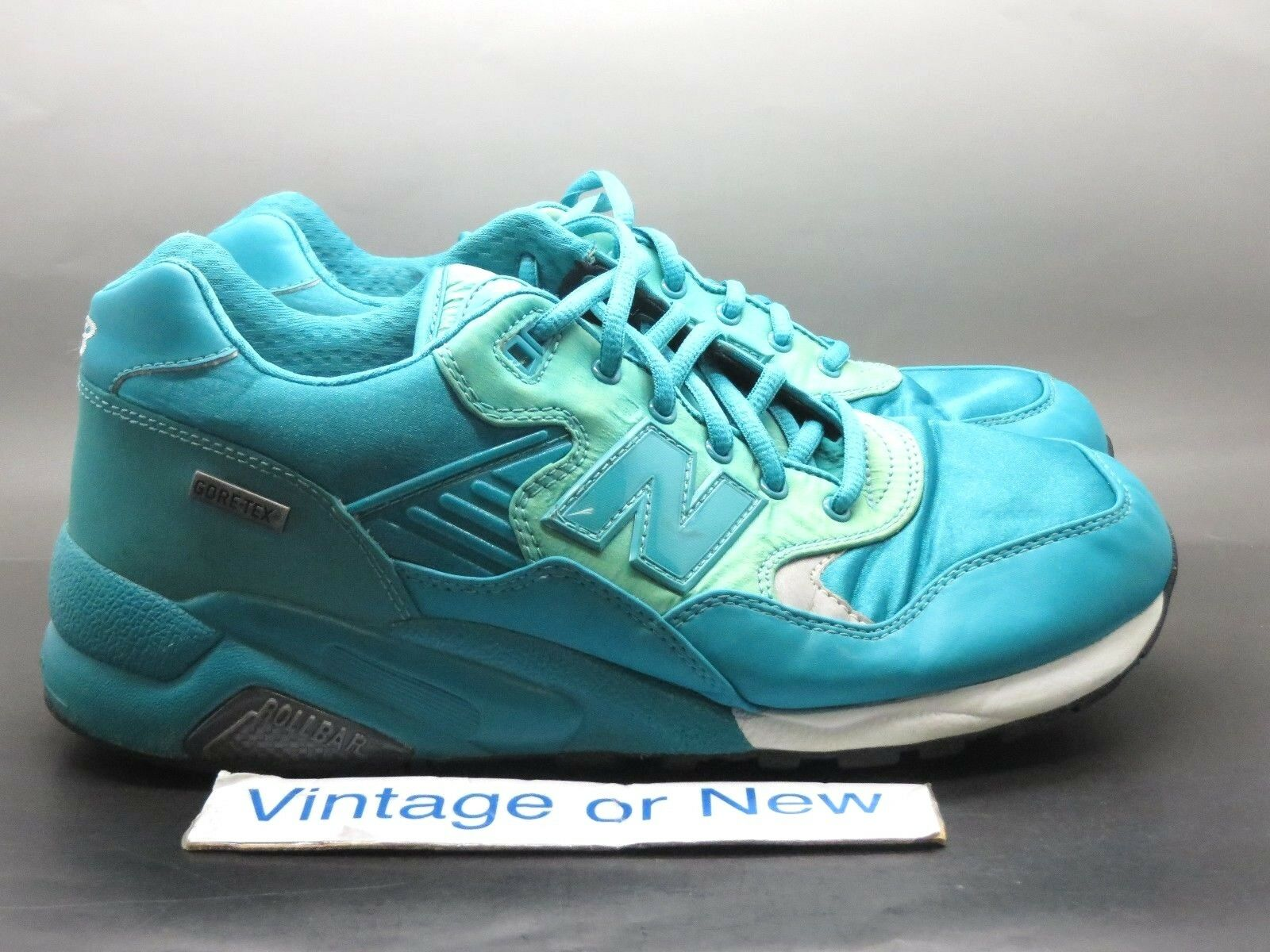 Men's New Balance 580 Goretex Aqua Marine MTG580TB Running Shoes sz 10