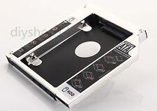 SATA 2nd 2.5 Hard drive HDD SSD Caddy for HP EliteBook 8560w 8570w 8760w 8770w