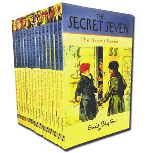 Enid-Blyton-Complete-Original-Secret-Seven-15-Full-Books-Set-Collection-Series