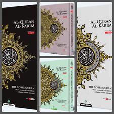(MAQDIS) Quran Al Kareem Word for Word Translation Colour Coded Tajweed Ara-Eng