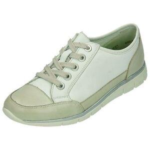 75f9ab6717 Das Bild wird geladen Remonte -Schuhe-Damen-Schnuerschuh-mit-Auswechselbares-in-UBERGROssE-