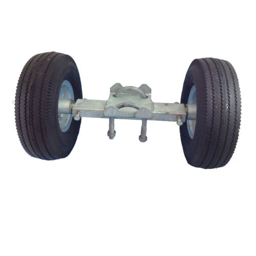 """8/"""" ROLLING GATE CARRIER WHEELS for Chain Link Fence Rolling Gates Rut Runner"""
