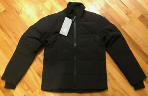 NEW-CANADA-GOOSE-WOOLFORD-JACKET-MENS-BLACK-3807M-L-S-INSULATED-DOWN-FREE-SHIP