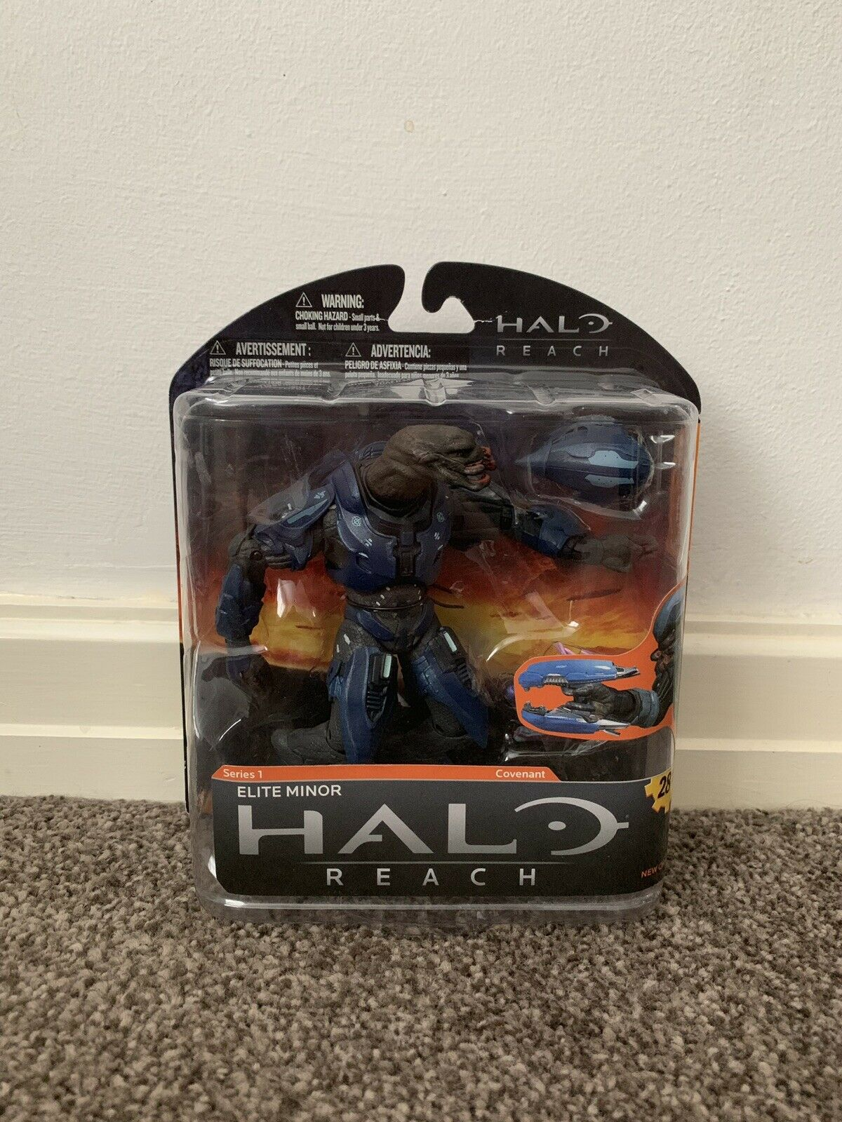 Halo Reach McFarlane Series 1- Elite Minor (Brand ny& Sällsynt)