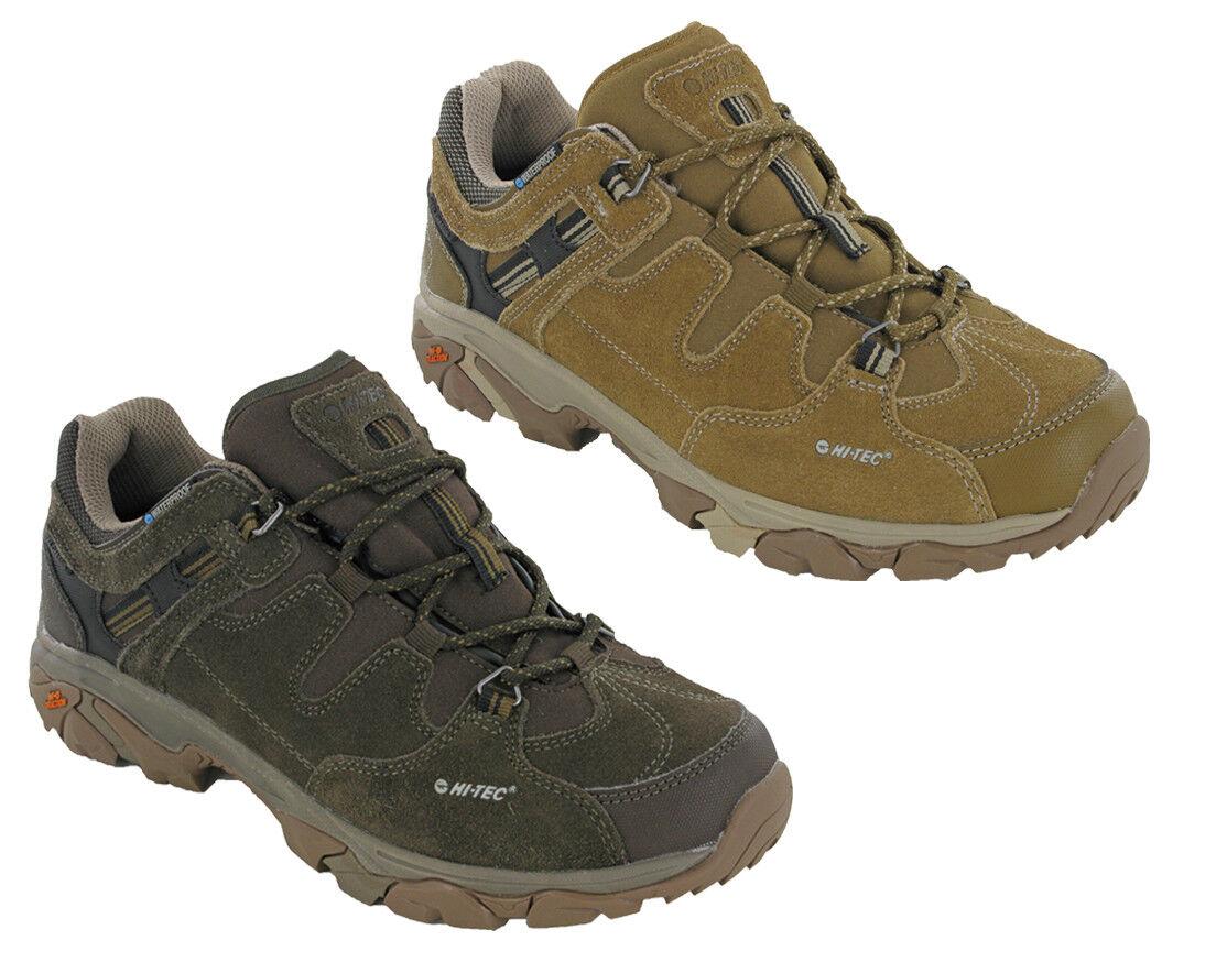 Hi-Tec Ravus Aventura bajo Impermeable Walking Zapatillas Comfort Senderismo