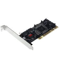 4 SATA Hard Disk Drives to PC,Serial-ATA,PCI controller card,softwareRAID GFY