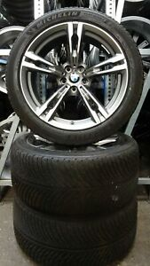4 Orig BMW Hiver Roues Styling 705 M 265/40 r19 102 V M + S m5 f90 8043663 5325