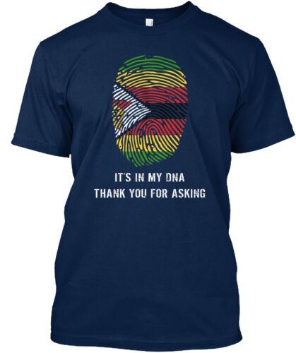 Zimbabwe ADN S-Il est dans ma merci de demander Standard Unisexe T-Shirt